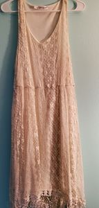 Maurices Cream White Lace Dress